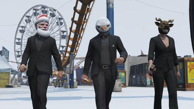 GTA Online : Les Cadeaux de la Période des Fêtes  GrandTheftAuto5