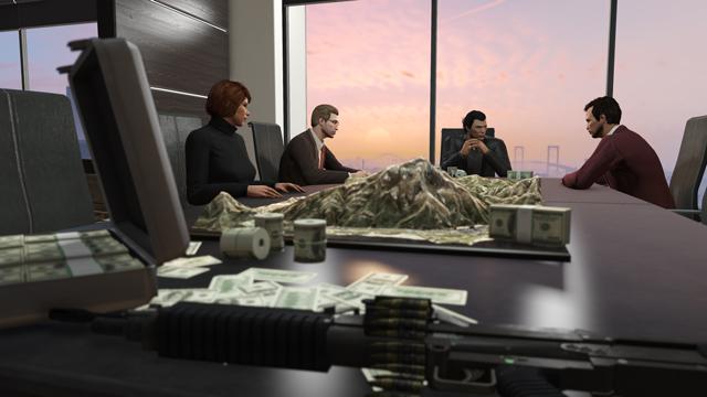 Gta online : la mise à jour « haute finance et basses besognes » est