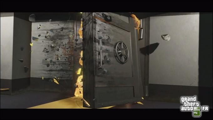 Chambre A Coucher Wikipedia : Porte De Chambre Forte  Analyse du Deuxième Trailer de GTA V  GTA V