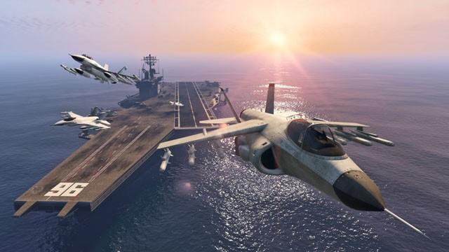 gta 5 comment avoir un avion de chasse
