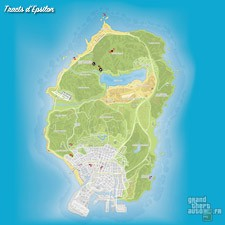 Carte tracts Epsilon GTA 5