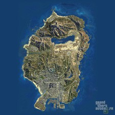 Carte satellite GTA 5