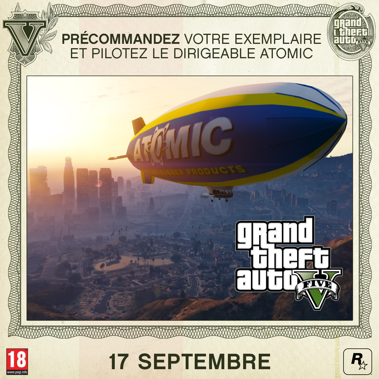 comment prendre dirigeable gta 5