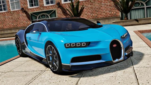 Nouveaux Téléchargements GTA 5 : Bugatti, Ferrari ...