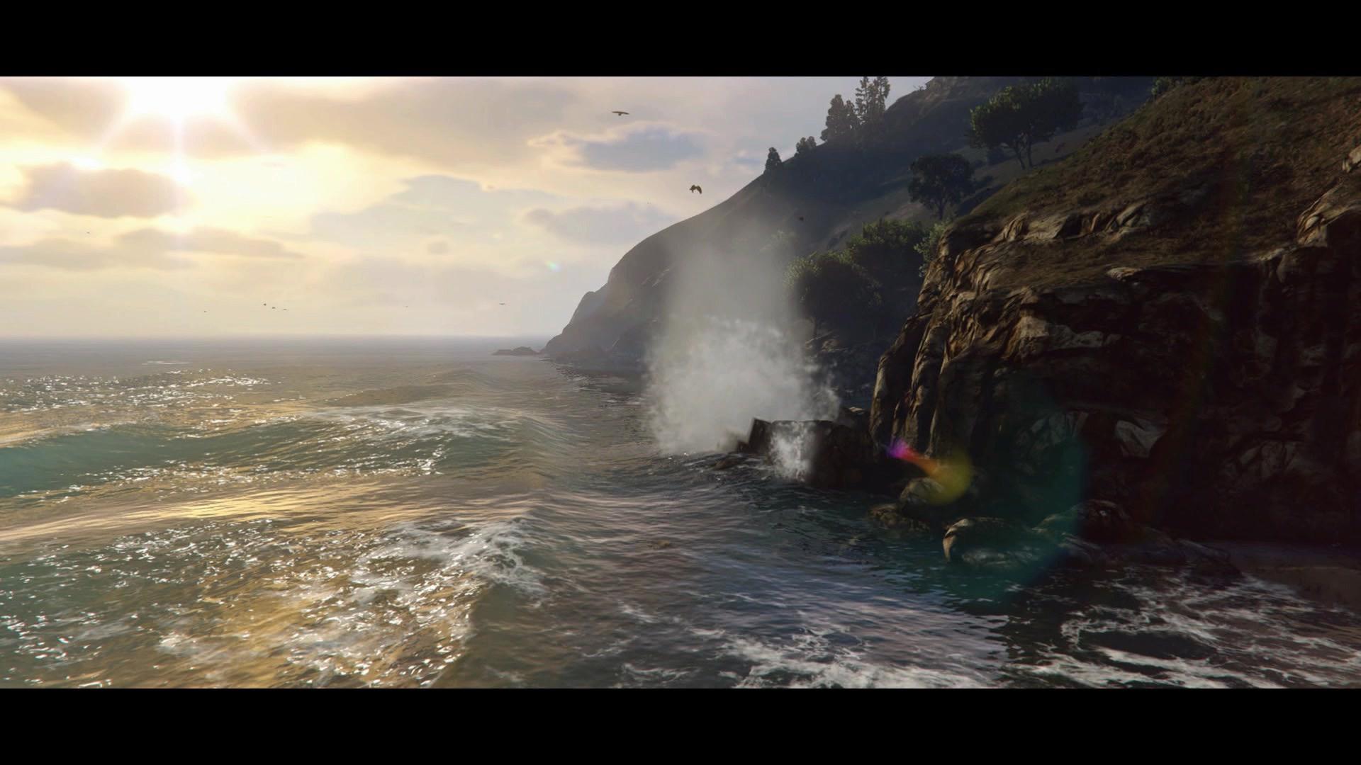 Les Images Du Trailer Ps4 Xbox One Et Pc De Gta 5 Gta V