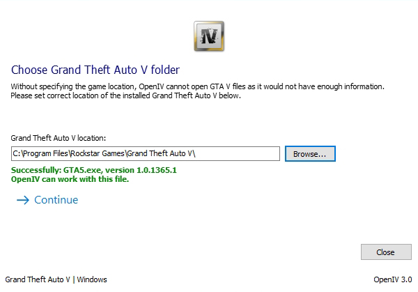 GTA 5 / GTA V : utiliser OpenIV pour installer un mod
