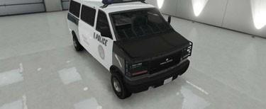 Les véhicules du département Police-transporter