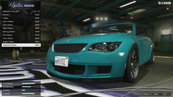 Tuning gta 5 for Voiture garage gta 5