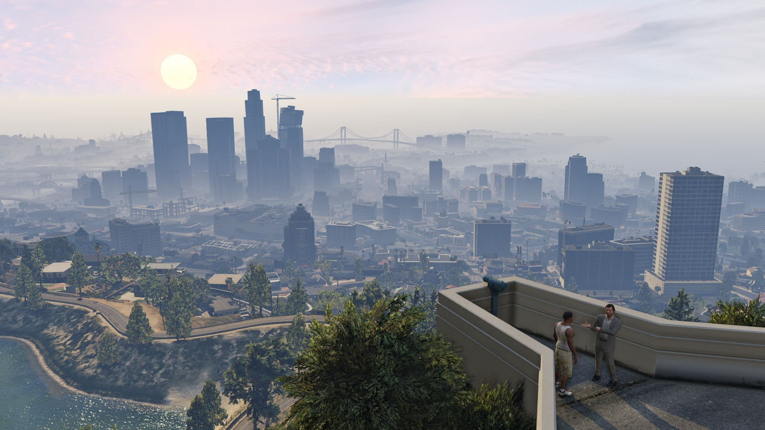 Los santos gta v hd the image kid has it for Paysage de ville
