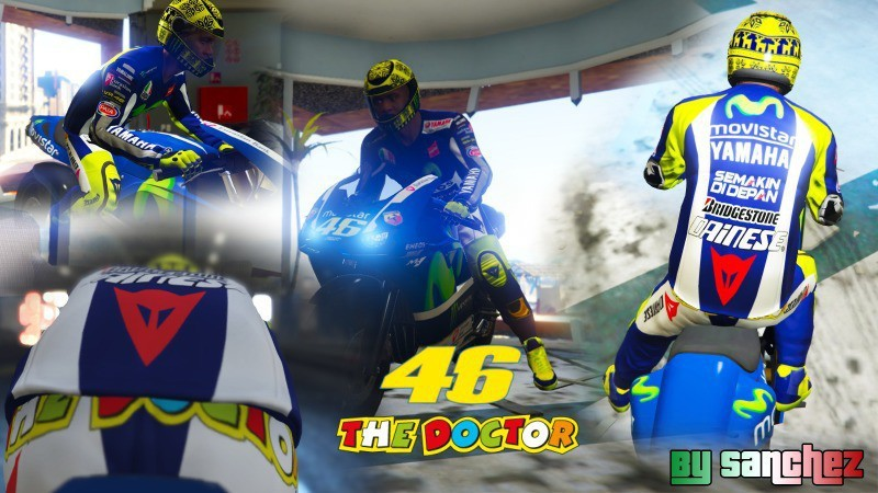 Valentino Rossi M1 Outfit