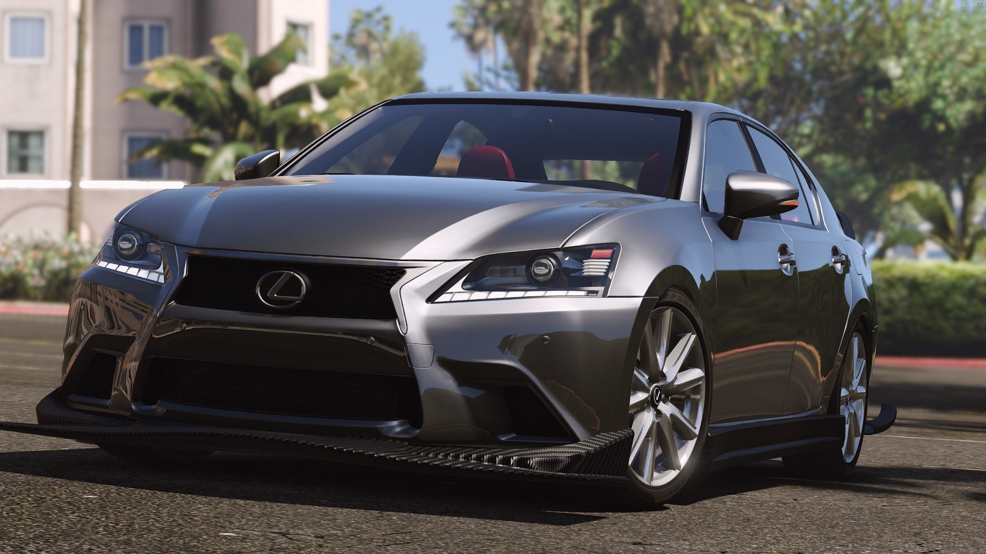 lexus gs 350 v hicules t l chargements gta 5. Black Bedroom Furniture Sets. Home Design Ideas