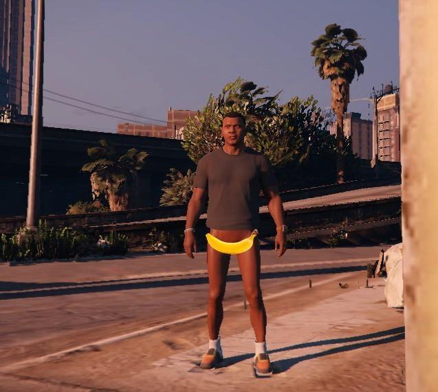 Naked Franklin - Skins / Modèles - Téléchargements GTA 5