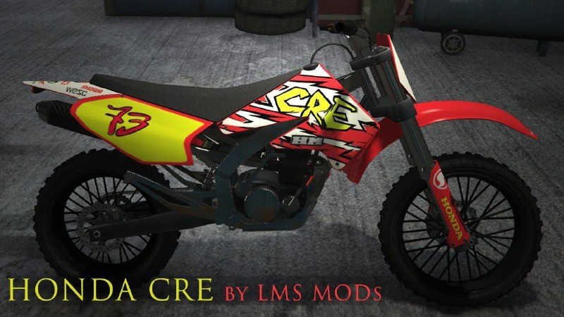 Honda CRE (HD Sanchez reTexture)