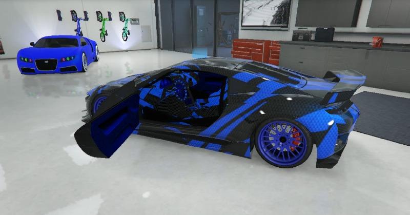 Prototype Carbon Beast Blue Jester