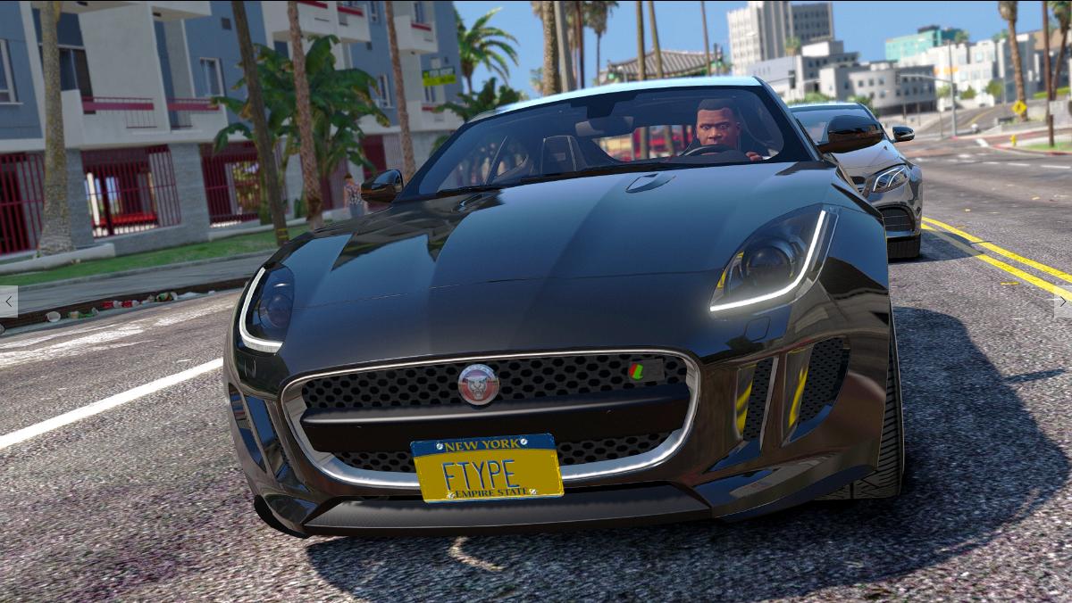 Jaguar F-Type R&SVR