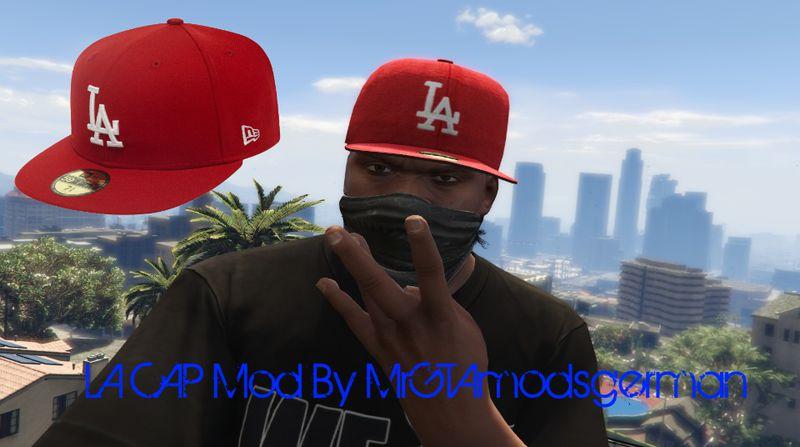 Red LA Cap Mod