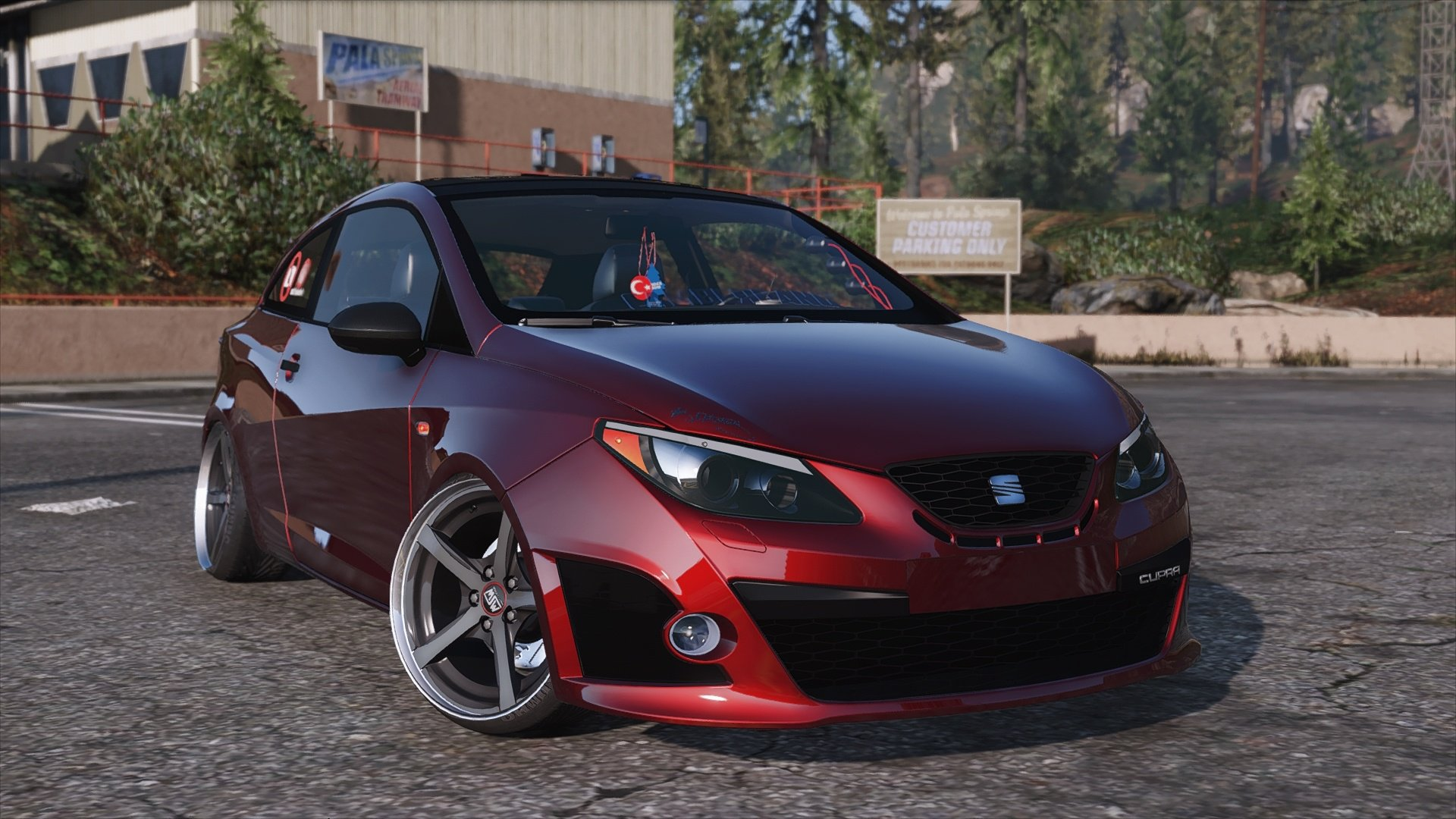 seat ibiza cupra v hicules t l chargements gta 5. Black Bedroom Furniture Sets. Home Design Ideas