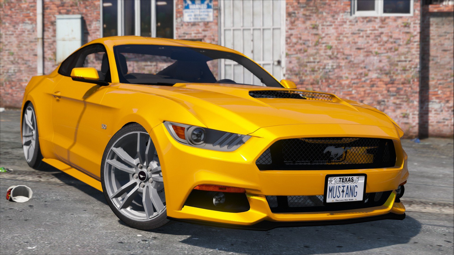 how to start a 2016 ford mustang