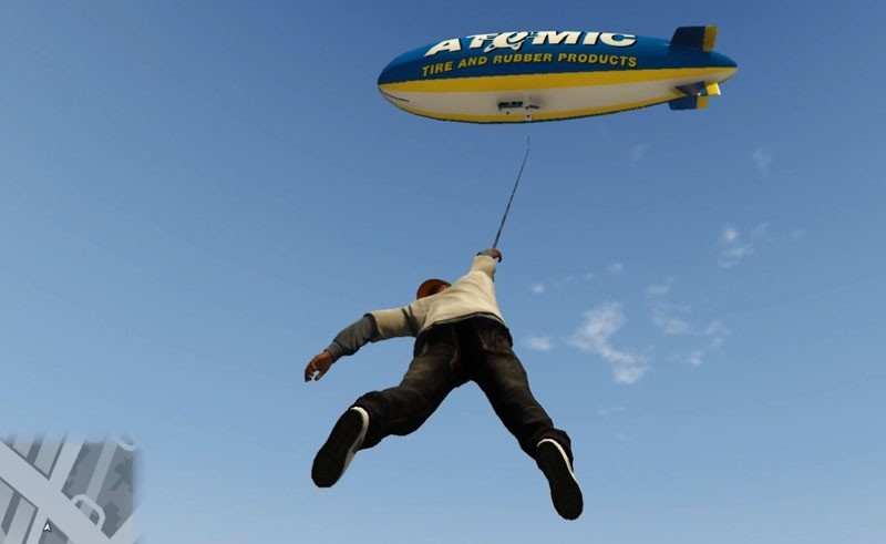 Just Cause 2 Grappling Hook