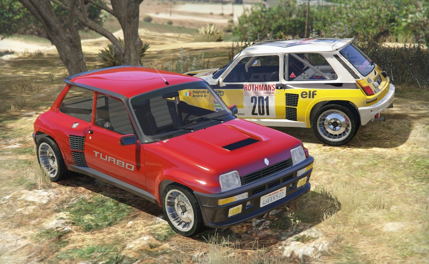 renault 5 turbo v hicules t l chargements gta 5. Black Bedroom Furniture Sets. Home Design Ideas
