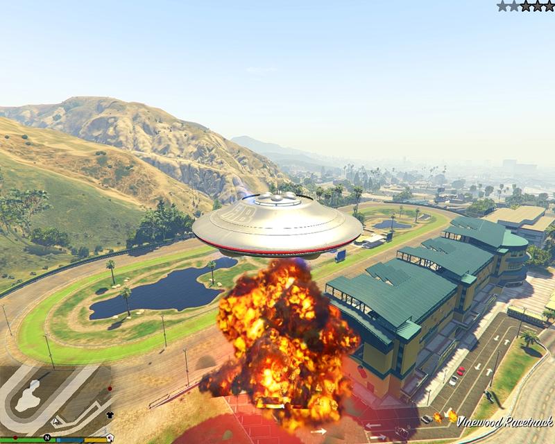 UFO Mod (Mod OVNI GTA 5)