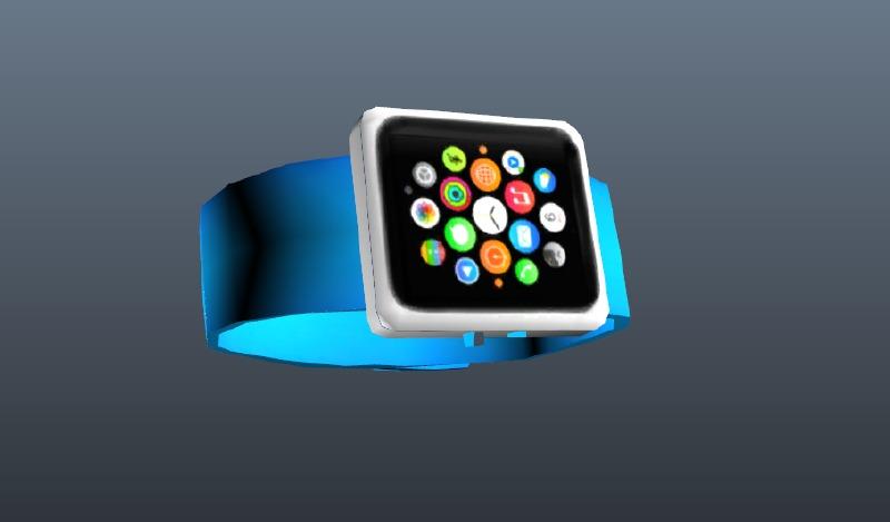 Apple Watch (Blue) for Trevor