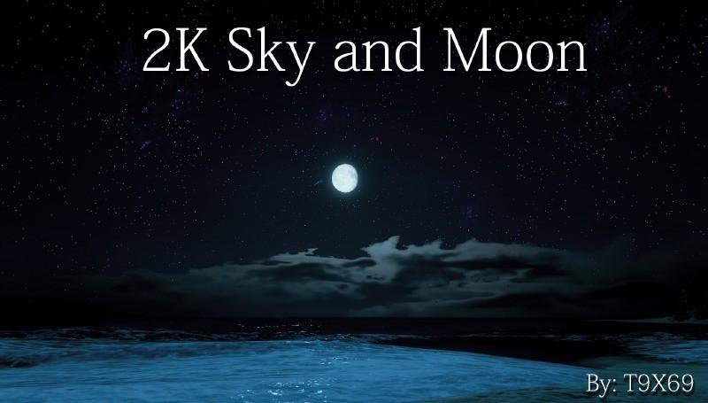 2K Sky and Moon