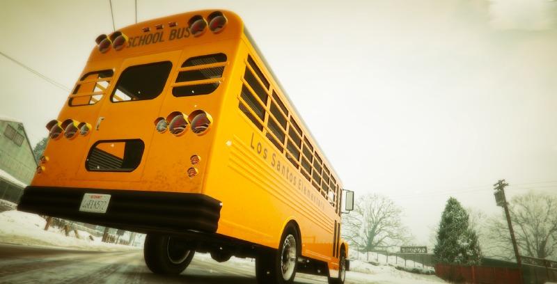 Los Santos Elementary School Bus (Bus scolaire)