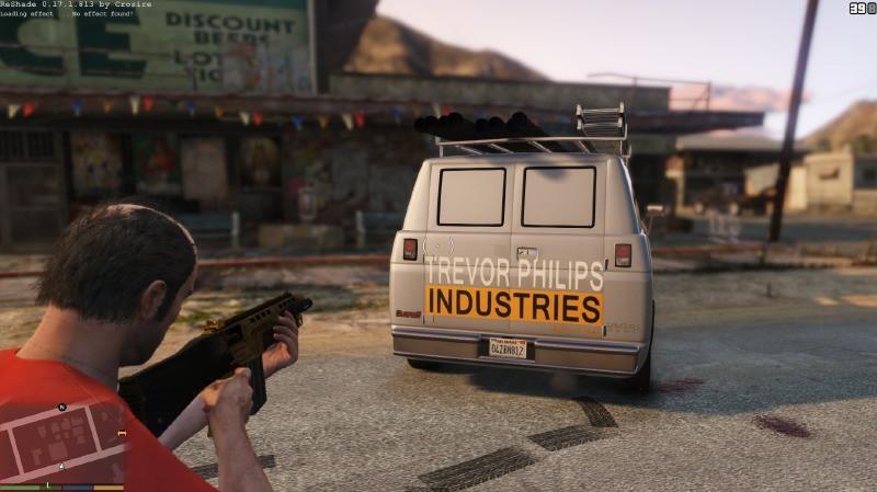 Trevor Philips Industries Van