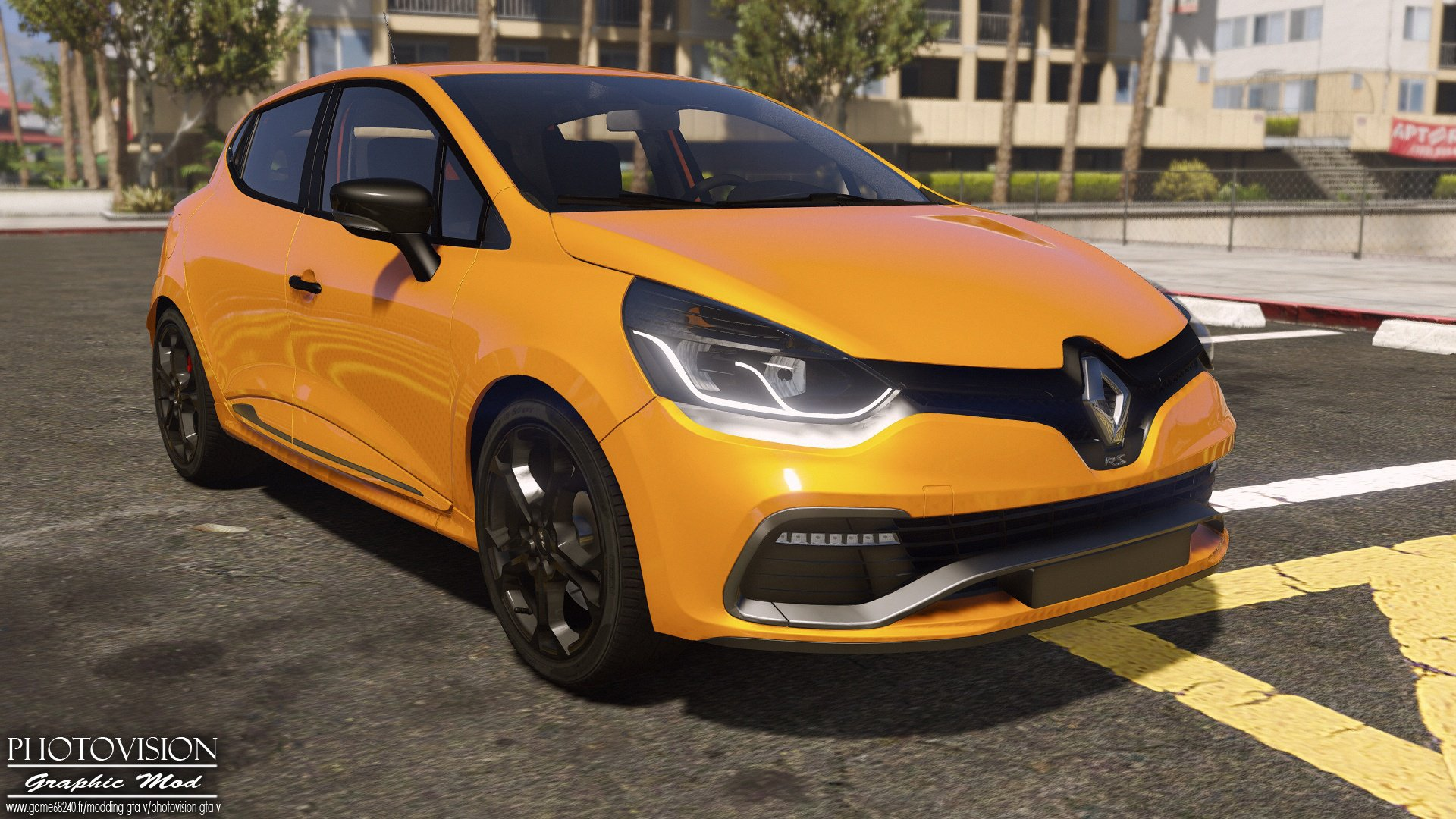 renault clio iv rs 2013 v hicules t l chargements gta 5. Black Bedroom Furniture Sets. Home Design Ideas