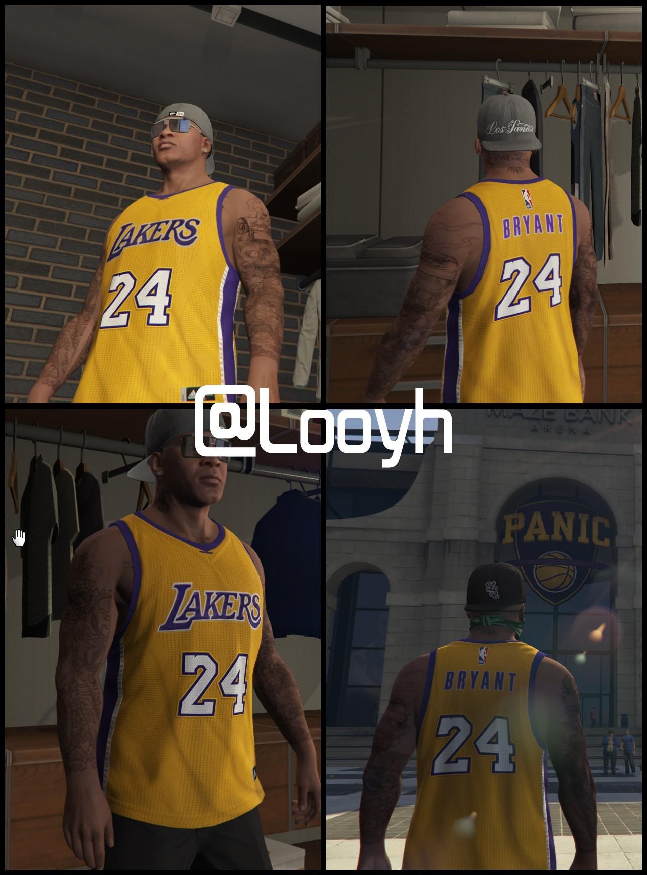 Lakers Kobe Bryant 24 Jersey