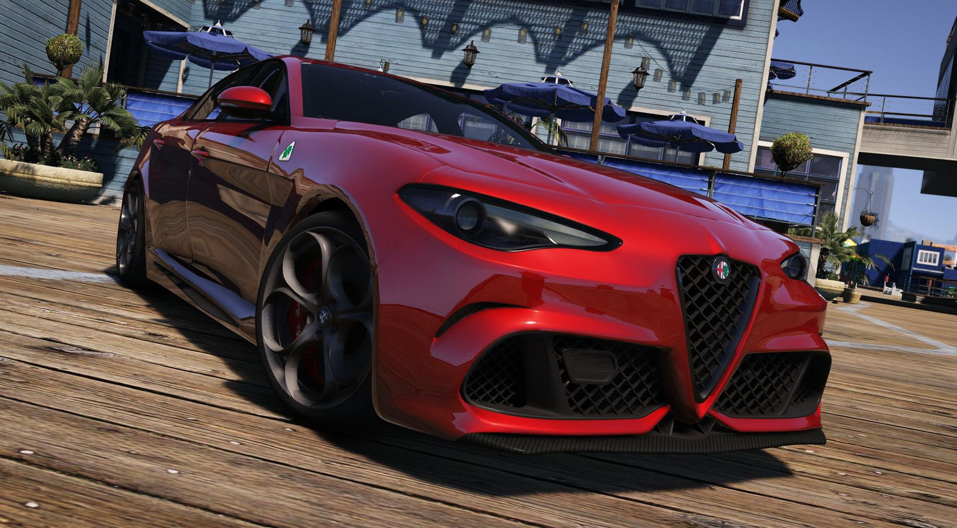 alfa romeo giulia quadrifoglio 2016 v hicules t l chargements gta 5. Black Bedroom Furniture Sets. Home Design Ideas