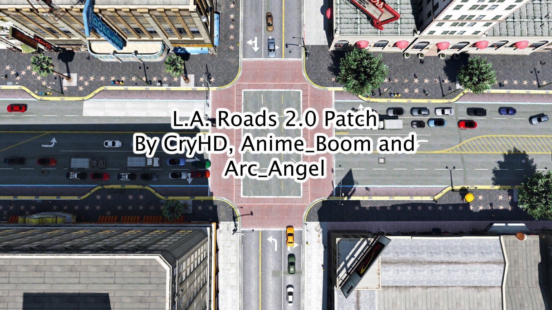 L.A. Roads Patch