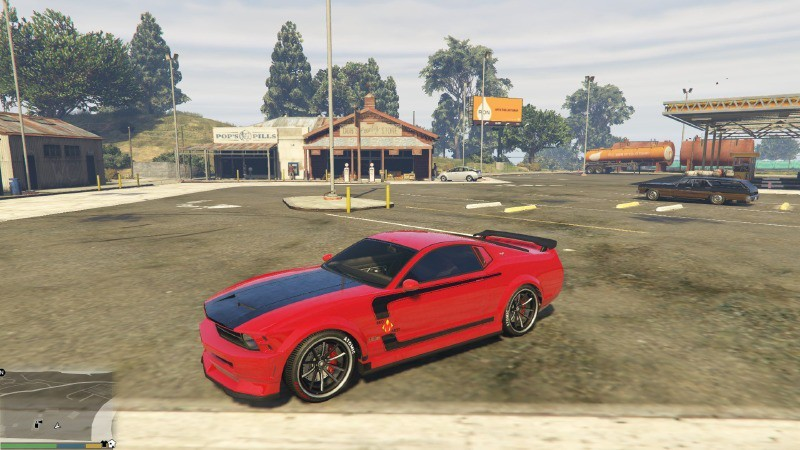 Red Mist's Mustang