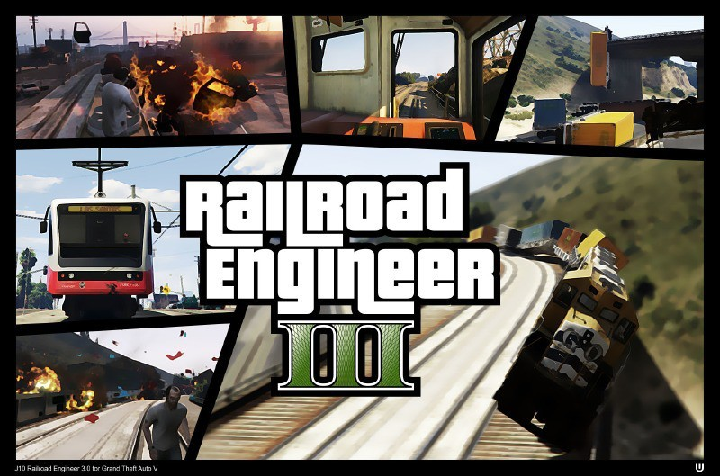 Railroad Engineer (Train Mod)