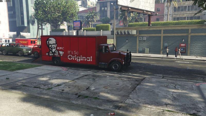Benson KFC Livery