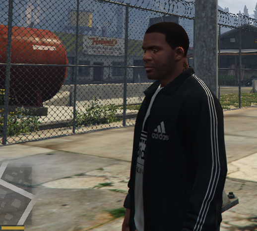 Navy Adidas Tracksuit for Franklin