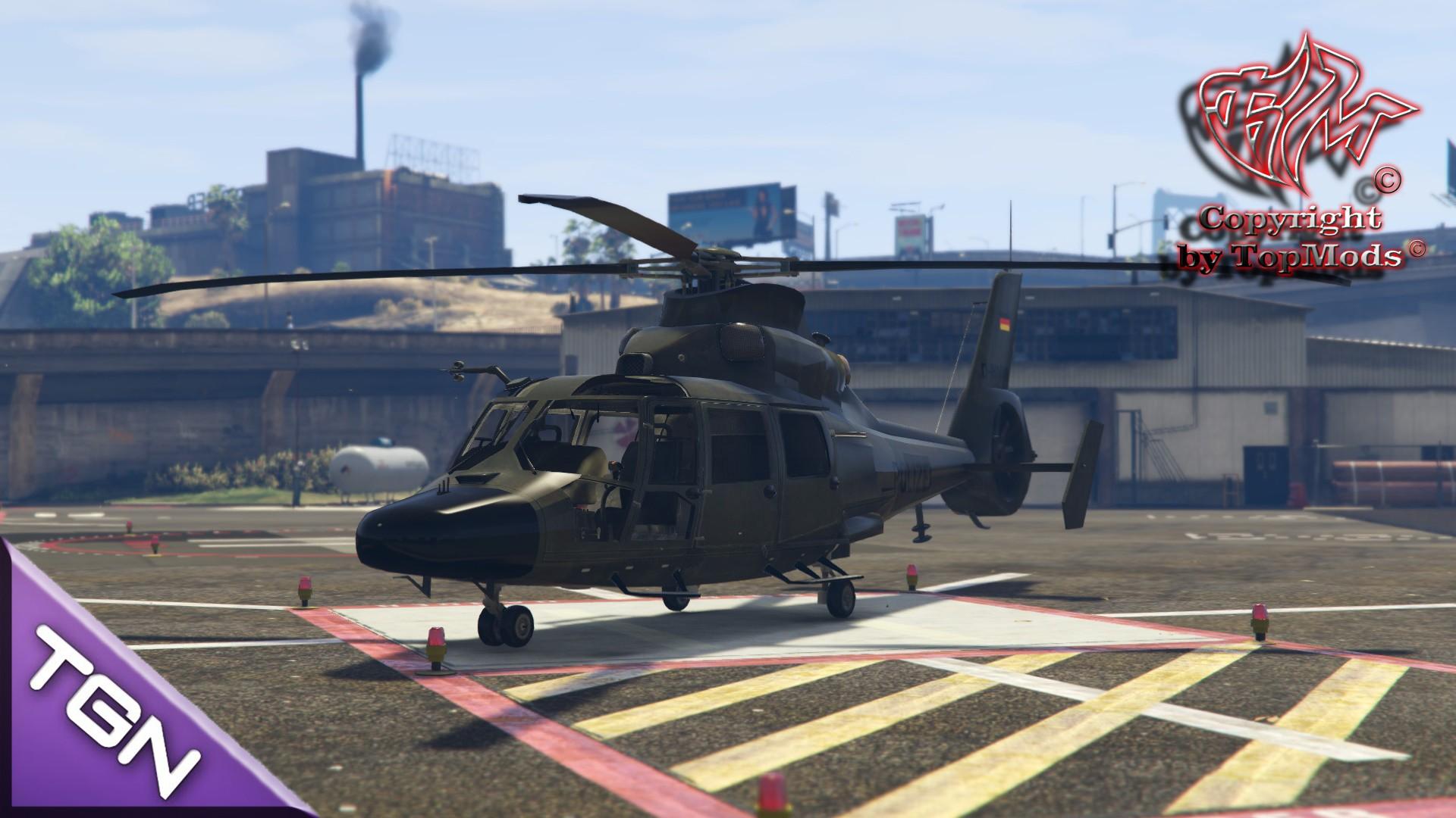 SEK Helicopter SA.365 Dauphin