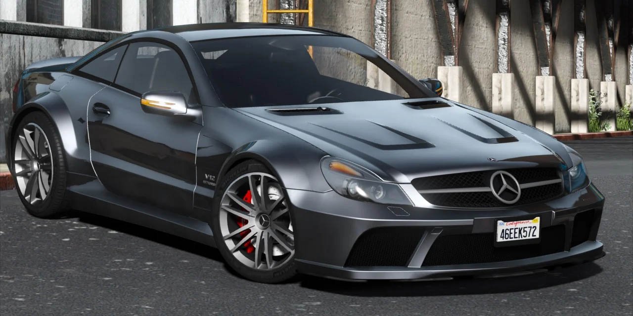 Mercedes-Benz SL65 Black Series 2009