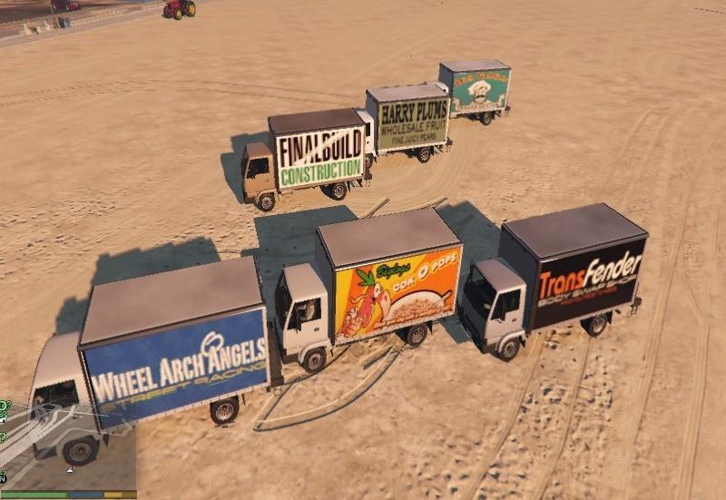 GTA San Andreas Trucker Liveries