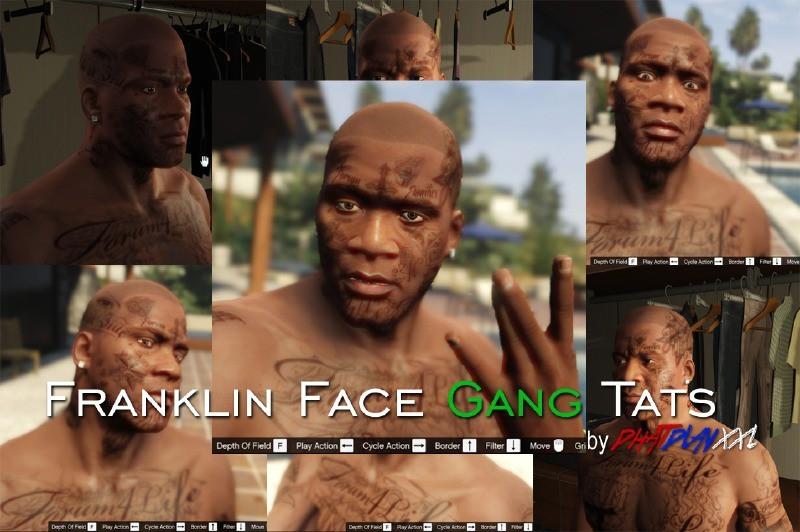 Franklin Gang Tattoos