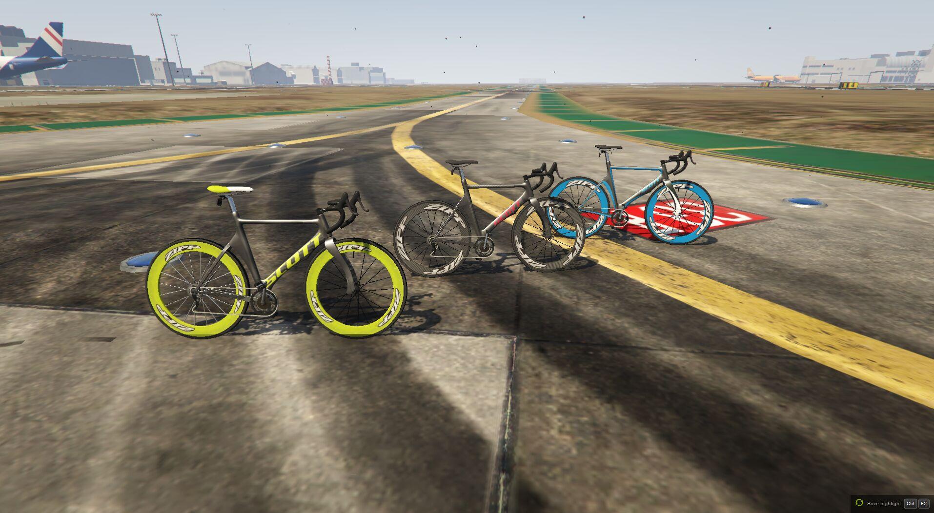 Carbon Fiber Scott Bikes