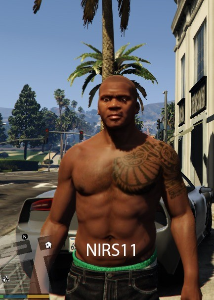 Franklins New Tattoos - Skins / Modèles