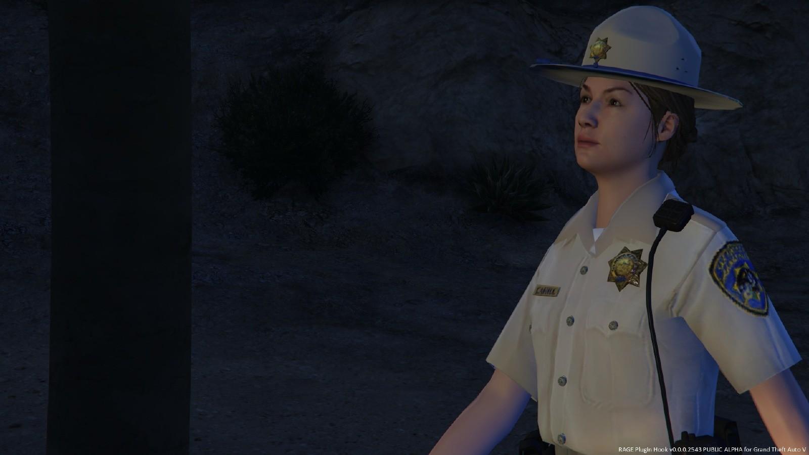 Policière SAHP