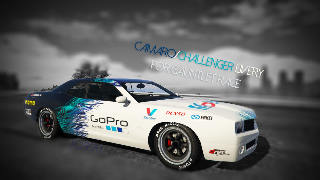 Camaro/Challenger Livery for Gauntlet Race