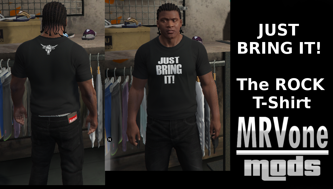 The Rock - Just Bring It ! (T-Shirt)