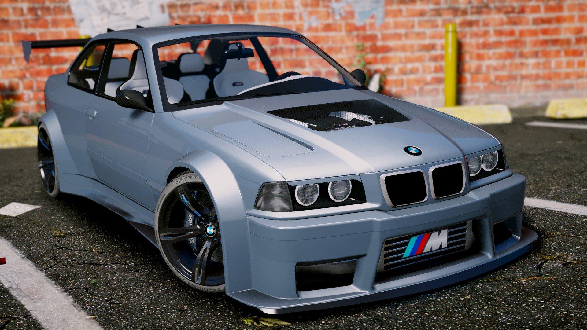 BMW M3 E36 V8 Biturbo