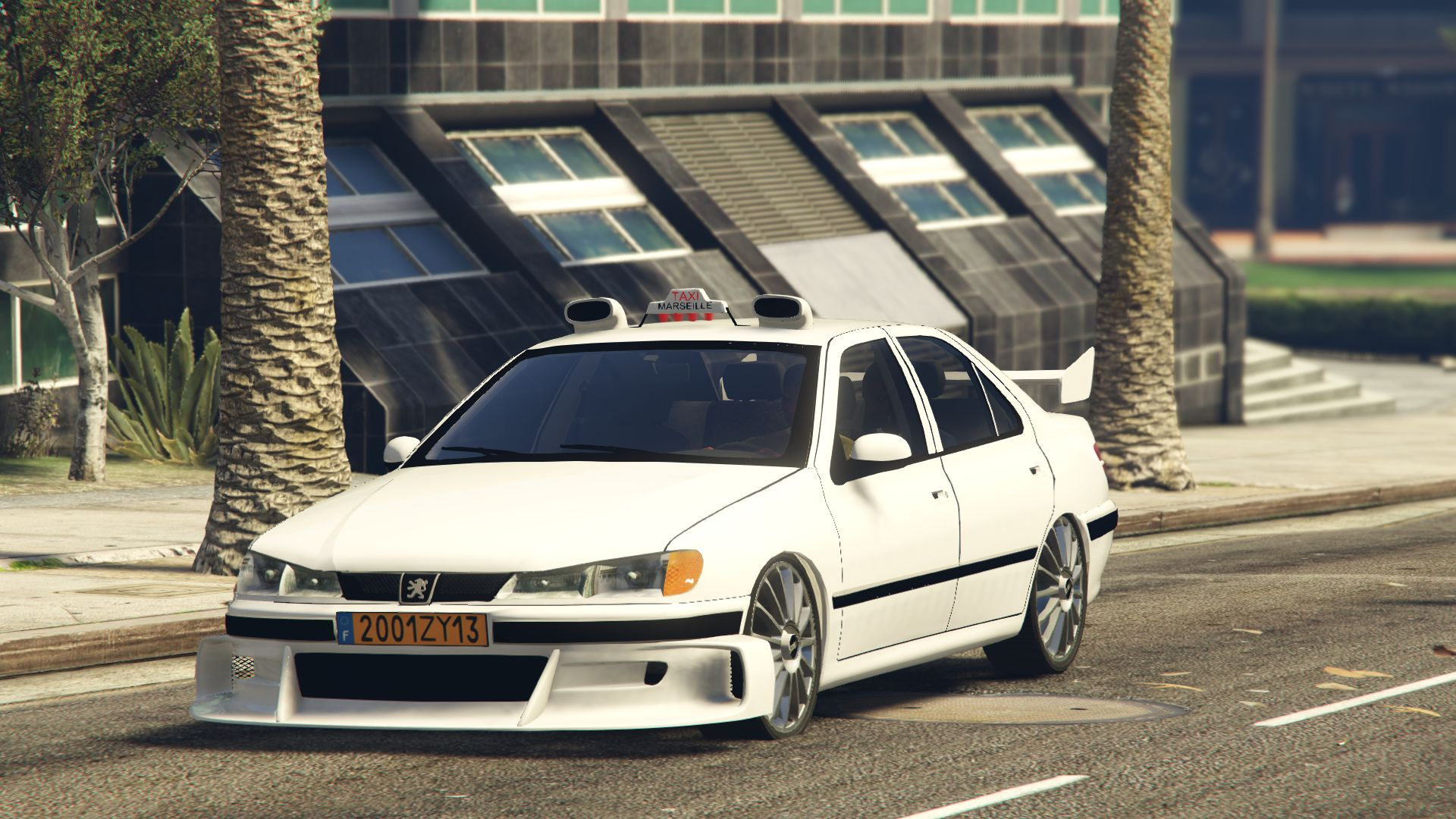 taxi 2 peugeot 406 v hicules t l chargements gta 5. Black Bedroom Furniture Sets. Home Design Ideas
