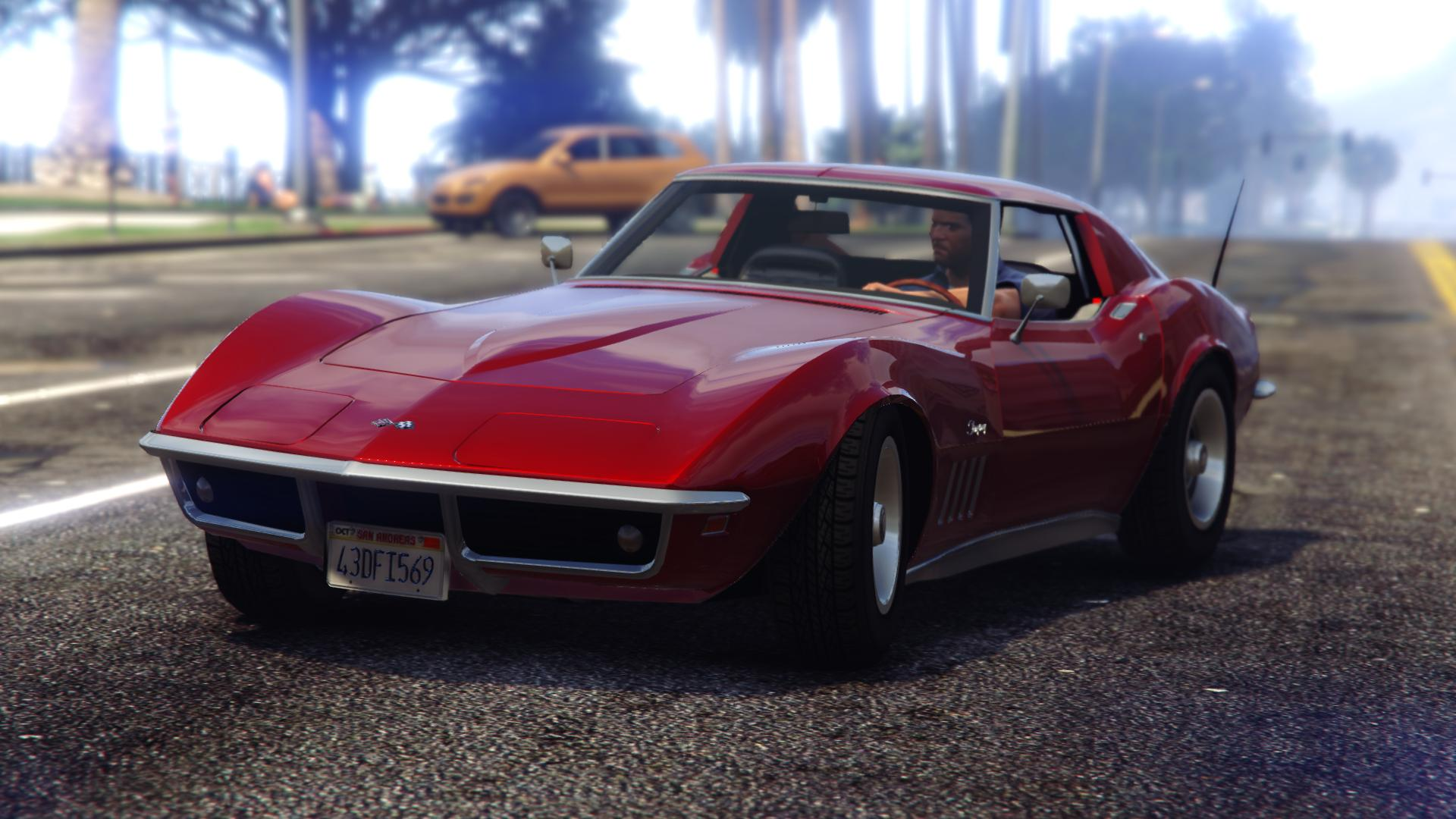 chevrolet corvette 68 stingray v hicules t l chargements gta 5. Black Bedroom Furniture Sets. Home Design Ideas