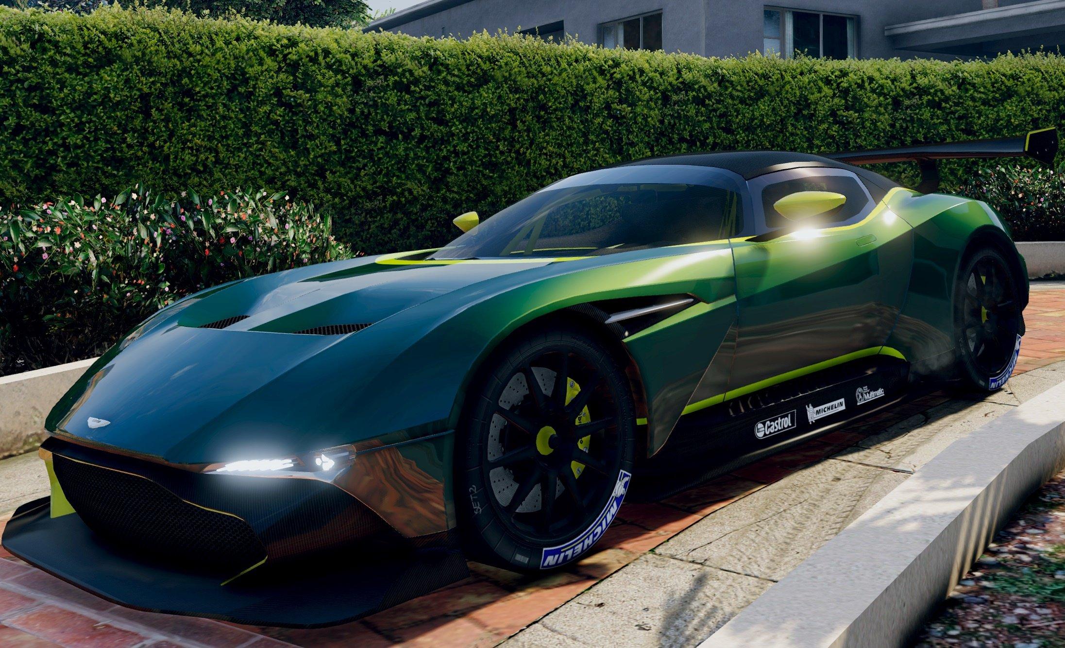Cheetah Gta V In Real Life Aston Martin Vulcan 20...